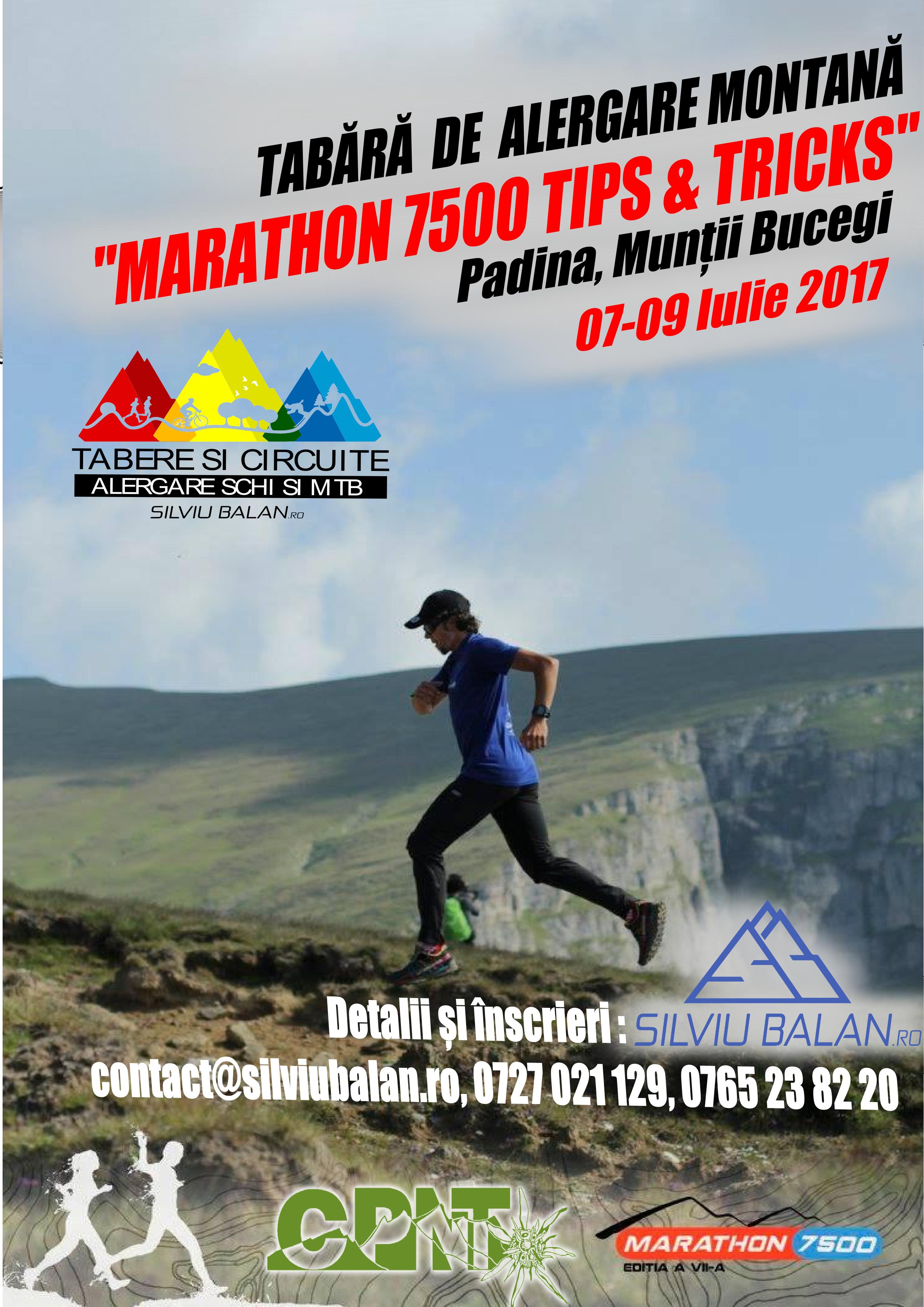 <ul><li>Tabără Alergare Montană Bucegi</li></ul>