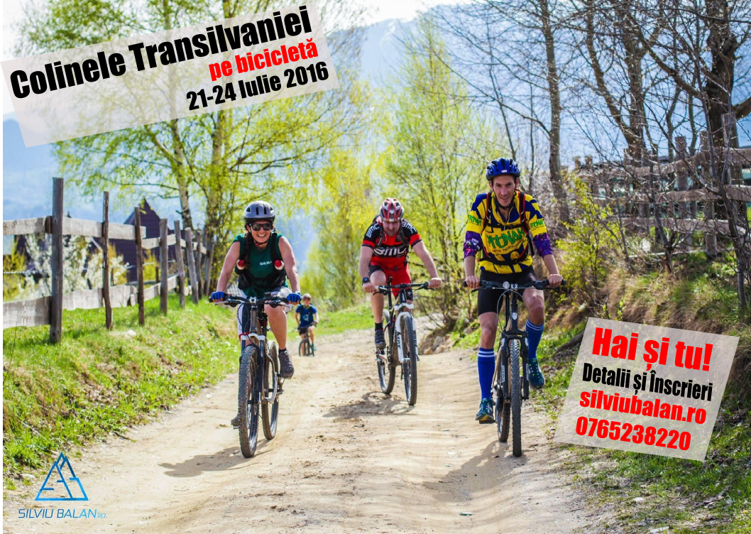 <ul><li>Circuit: Colinele Transilvaniei pe bicicletă</li></ul>