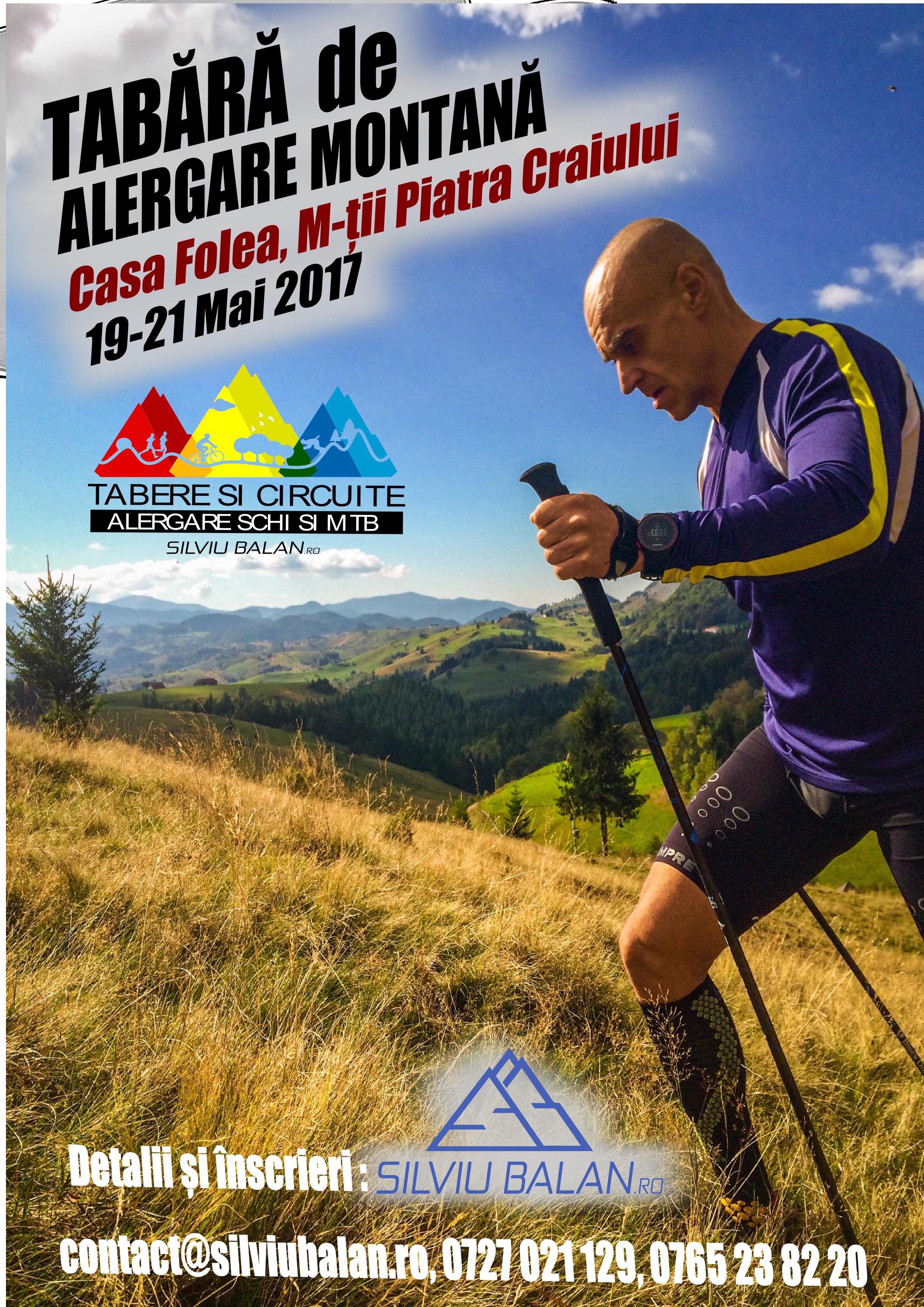 <ul><li>Tabără Alergare Montană Piatra Craiului</li></ul>